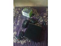 X BOX 360 Slim 1439 Console & Games Bundle*FIFA 16* COD*