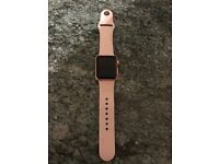 Rose Gold Iwatch, 2 months old hardly worn no marks or scratches what so ever like new