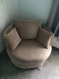 Next swivel cuddle chair