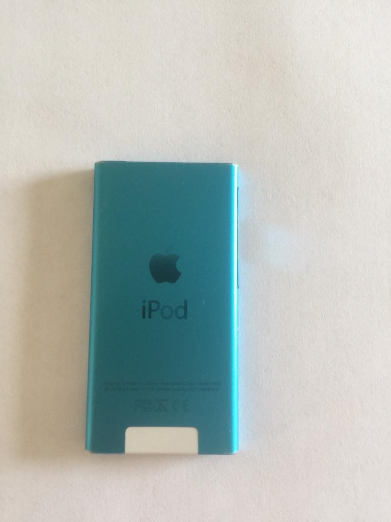 APPLE IPOD NANO 7TH GENERATION BLUE. OFFERS OR SWAPS.