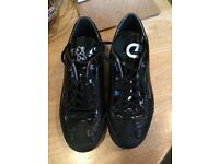 Black size 4 Recopa shoes, worn once.