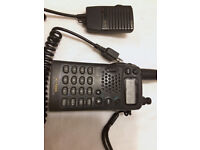 ICOM IC-T22A hand held FM two way radio preowned inc speaker mike, very good condition.