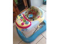 Chicco baby sit in walker
