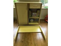 Good condition change table that converts to dresser from non-smoker, no pet home.