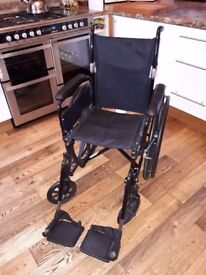 Wheelchair - 16 inch - Puncture Proof tyres - like new
