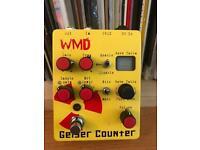 Wmd Geiger counter effect pedal