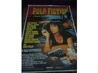 Pulp fiction film poster