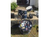 CB Drum Kit Worn but useable