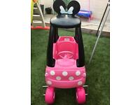 MINNIE MOUSE LITTLE TIKES COZY COUPE