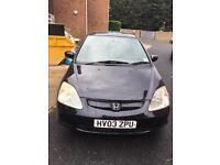 Honda Civic 1.4 petrol/LPG £499