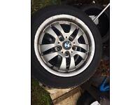 Bmw 16 inch alloys / winter wheels