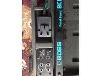 Boss BCB 60 with power supply and leads