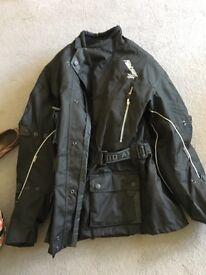 Ladies akito motorbike gear black size M