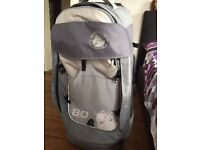 Numinous GlobePacs 80L wheeled luggage