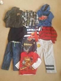 Bundle of Age 3-4 boys clothes