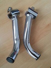 Cycle Bicycle handlebars silver