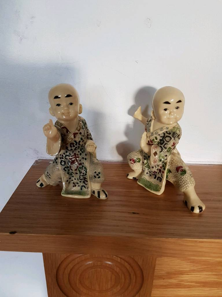 Pair of vintage chinese ornaments