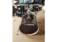 Yamaha stage custom fusion nearly new black