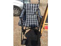 Lightweight Fold Up Wheelchair