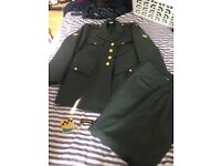 Vintage Army Style Suit