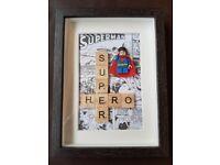 Lego Superman box frame