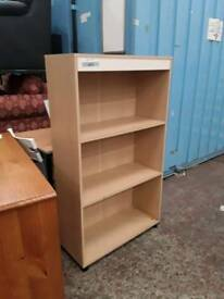 Medium Sized Pine Bookcase. Del Available