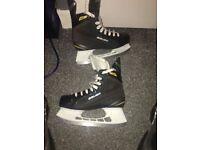 Bauer ice hockey skates(uk.5.5)