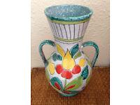 Mid Century/Retro/Vintage/Antique Italian/Italy Pottery/Vase/Jug Ceramic PRICE LOWERED