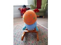 Mamas and Papas charlie rocking carterpillar animal good condition rrp £49 assembled