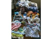 Bundle of baby boy clothes 0-3 months/tiny baby/first size