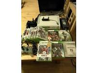 Xbox 360 15 games 3 Controllers etc
