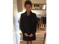 Women's dark grey wool jacket