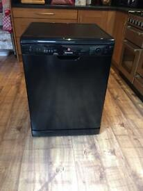 Black Hoover dishwasher