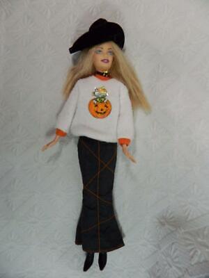 Mattel Barbie Doll Halloween Hip Fun Witch 2006 ~ EXCELLENT!](Barbie Halloween Witch Doll)