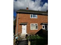 BRAND NEWLY DECORATED 2 BEDROOM HOUSE AVAILABLE TO RENT IN LOBLEY HILL, GATESHEAD. LOW MOVE IN COSTS