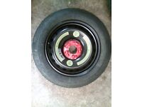 MERCEDE SPACE SAVER WHEEL