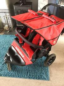 Out and about v4 double Pushchair