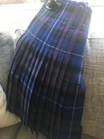 Men's 'Pride of Scotland' Kilt and Bonnie Prince Charlie Jacket/Waist Coat
