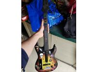 Nintendo Wii Guitar Hero guitar only