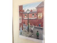 Tom Dodson Signed Print - Smith Street Merry-Go-Round