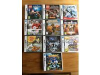 Various Nintendo DS games