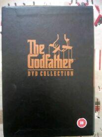 Godfather dvd box set for sale