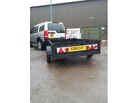 trailer 4.5 x 8ft bed single axle