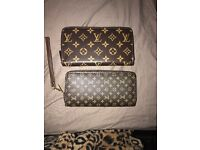 Louis Vuitton purse large size available in few colours new condition