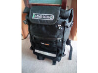 Bagaboo Jumbo waterproof expandable backpack. Cost 140 Euros, not much used