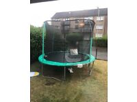 12ft Green Trampoline Used A Couple of Times
