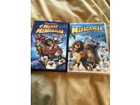 Madagascar DVD's