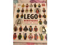 Lego mini figure book
