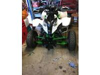 Polaris predator 500 with a zxr900 engine super quad
