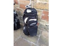 Wilson 1200 GC Golf set with Callaway golf bag for sale